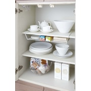 Yamazaki USA Tower Dish Helper Shelf; White
