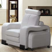 Hokku Designs Rollingstone Club Chair and Ottoman
