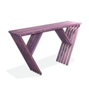 Glodea Xquare Eco Friendly Console Table X60; Purple Berry