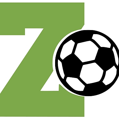 Enchantingly Elegant Monogram Letter ''Z'' and Soccer Ball Wall Decal; 17'' H x 21'' W x 1'' D