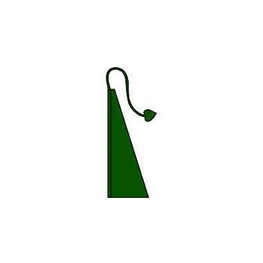 NeoPlex Windtail Vertical Flag; Green