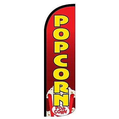 NeoPlex Popcorn Deluxe Vertical Flag