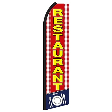NeoPlex Restaurant Tablecloth Vertical Flag