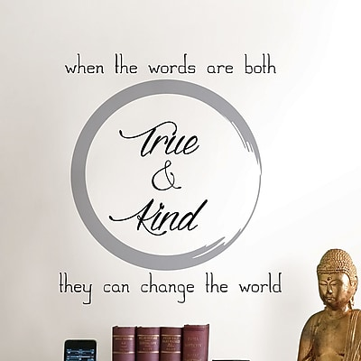 WallPops! Digital True and Kind Wall Decal