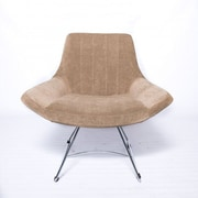 Oak Idea Selox Lounge Chair; Beige