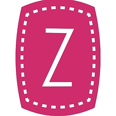 Enchantingly Elegant Letter ''Z'' Wall Decal; 17'' H x 12'' W x 1'' D