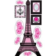 Mona Melisa Designs Eiffel Tower Wall Decal