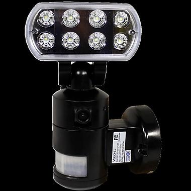 Versonel Nightwatcher Pro 1-Light LED Security Motion Recording Light w/ WiFi; Black