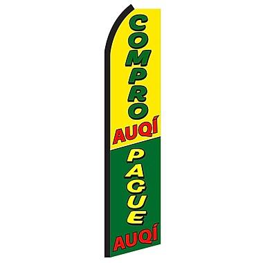 NeoPlex Compro Auqi/Pague Auqi Vertical Flag