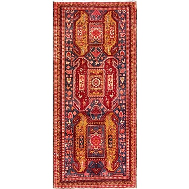 Pasargad N.w Hand-Knotted Red Area Rug