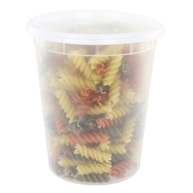 Freshware Reusable To Go 32 Oz. Food Storage Container (Set of 30)