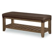 Loon Peak Brigadoon Wood Bedroom Bench