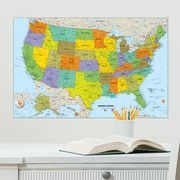 WallPops! USA Dry Erase Map Wall Decal