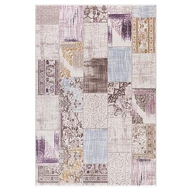 Persian-rugs Taksim Cream Area Rug; 5'3'' x 7'2''