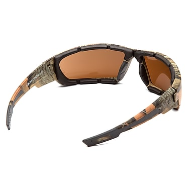 VentureGear Brevard Safety Eyewear Glasses, Camo Frame/Bronze Anti-Fog Lens, 6/Pack
