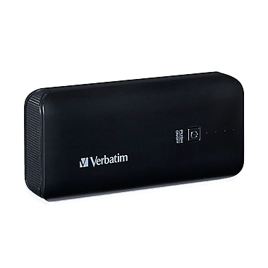 Verbatim Portable Power Pack, 4400 mAh, Black (99207)