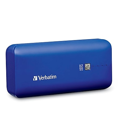 Verbatim Portable Power Pack, 4400 mAh, Cobalt Blue (99378)
