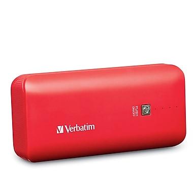 Verbatim – Chargeur portatif Power Pack de 4400 mAh, rouge (99379)