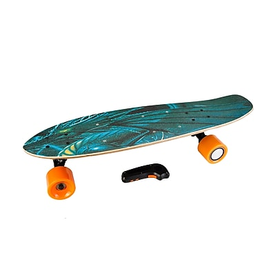 IMGadgets IMDeck Electric Skateboard with Remote, Imperial Dragon (4WHLSKTID)