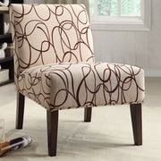 A&J Homes Studio Fabric Slipper Chair
