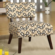 A&J Homes Studio Fabric Side Chair; Beige