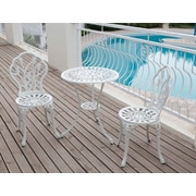 Paragon Casual Tulip 3 Piece Bistro Set