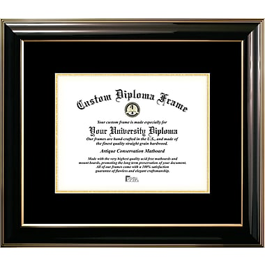 Campus Images Classic Mats Picture Frame; Black
