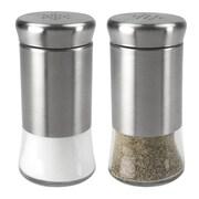 Home Basics 2-Piece Salt and Pepper Set