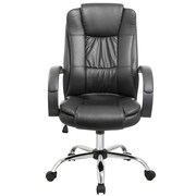 Porthos Home High-Back Executive Chair; Black