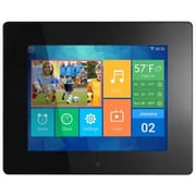 """Aluratek 8"""" Digital Photo Frame with Touchscreen LCD Display, AWDMPF208F"""