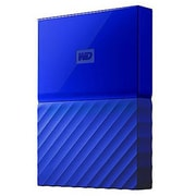 WD® My Passport 4TB Portable External Hard Drive, Blue (WDBYFT0040BBL-WESN)