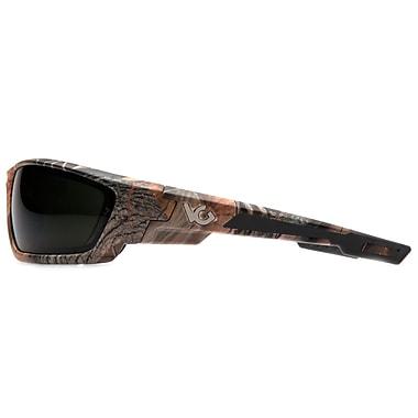 VentureGear – Lunettes de protection Brevard, monture camouflage/verre antibuée gris forêt, 6/paquet