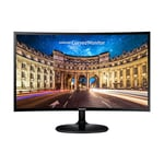 Samsung CF390 LC24F390FHNXZA 23.5 VA LED Curved Monitor, 1920 x 1080, 4 ms