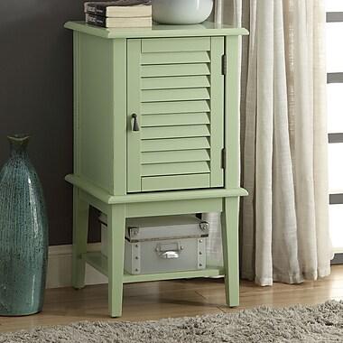 ACME Furniture Hilda II Floor Cabinet; Light Green