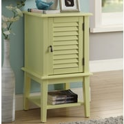 ACME Furniture Hilda II Floor Cabinet; Light Yellow