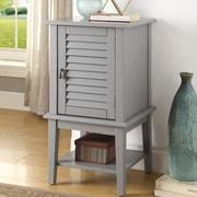 ACME Furniture Hilda II Floor Cabinet; Gray