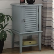 ACME Furniture Hilda II Floor Cabinet; Light Blue