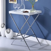 ACME Furniture Lajos Tray Table; White
