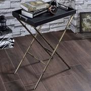 ACME Furniture Lajos Tray Table; Black Weave