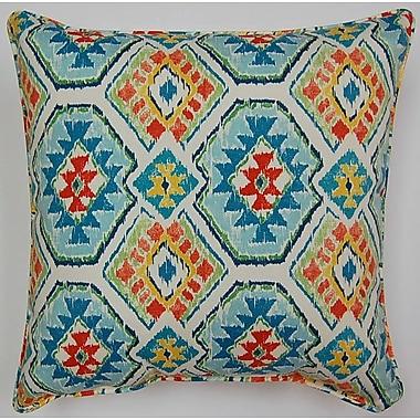 Creative Home Eresha Throw Pillow; Bluebird
