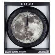A&J Homes Studio Full Moon LED 12'' Wall Clock