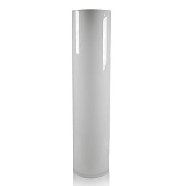 CYSExcel Glass Cylinder Vase (Set of 4); White