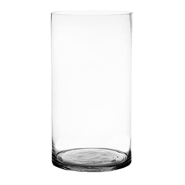 CYSExcel Glass Cylinder Vase (Set of 2); 20'' H x 10'' W x 10'' D
