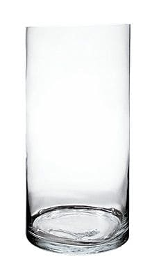 CYSExcel Glass Cylinder Vase (Set of 2); 24'' H x 10'' W x 10'' D WYF078279794141