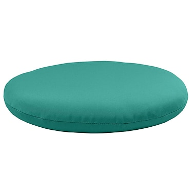 Comfort Classics Round Knife Edge Outdoor Sunbrella Cushion; Aruba