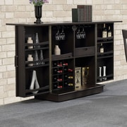 ECI Furniture Rum Point Expandable Bar w/ Wine Storage