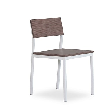 New Spec Sand Side Chair (Set of 2); Sand / White