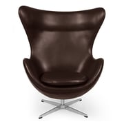 Kardiel Amoeba Balloon Chair; Choco Brown