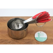 Gela Global 5 Piece Stainless Steel Measuring Cup Set