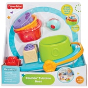 Fisher Price Stackin Tubtime Boat